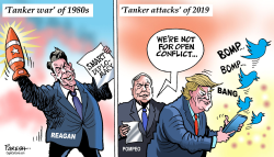 Reagan and Trump on tankers by Paresh Nath