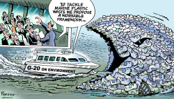 G-20 on marine plastic by Paresh Nath