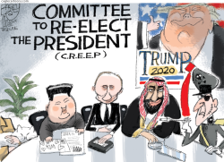 CREEP by Pat Bagley