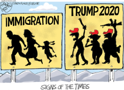 Troubling Signs by Pat Bagley