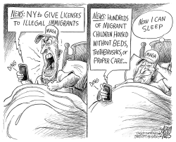 Immigrant outrage by Adam Zyglis