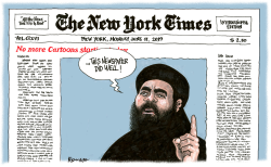 Daesh likes the New York Times by Robert Rousso
