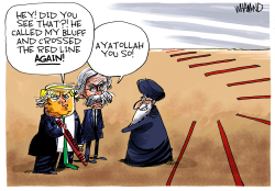 Ayatollah You So by Dave Whamond