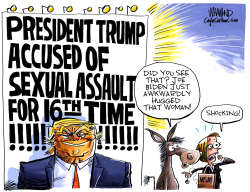 More Trump Accusations by Dave Whamond