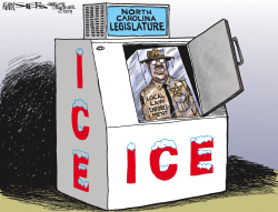 LOCAL NC Sheriffs and ICE by Kevin Siers