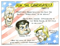 Ask the candidates -  part 1 by Taylor Jones