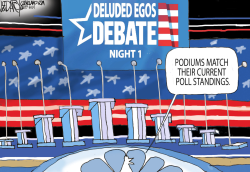 First Democratic Debate by Jeff Darcy