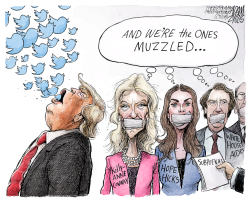 White House aides by Adam Zyglis