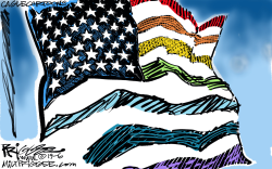 Equality Flag by Milt Priggee