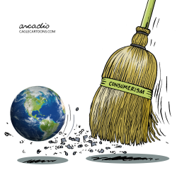 THE PLANET DOESN'T MATTER by Arcadio Esquivel