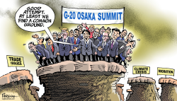 G-20 Osaka summit by Paresh Nath