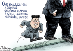 North Korea by Joe Heller