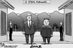 Trump and the DMZ by Bruce Plante