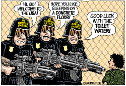 US Border Patrol by Wolverton