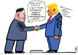 North Korea visit by Schot