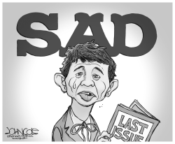 Mad Magazine nears the end by John Cole