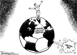 World Cup by Joe Heller