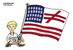Women's World Cup champs by Jimmy Margulies