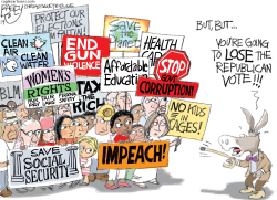 Dumb Dems by Pat Bagley
