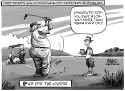 Par For The Course by Dave Whamond