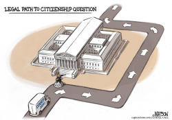 Legal Path to Census Citizenship Question by RJ Matson