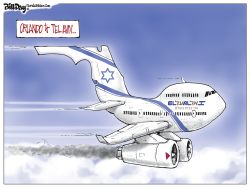 El Al flights FLORIDA by Bill Day