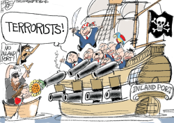 LOCAL Utah Pirates by Pat Bagley