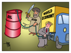 oil and world economy by Arend Van Dam