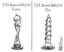 Women's World Cup by Adam Zyglis