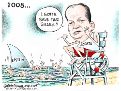 Acosta and Epstein sex abuse case by Dave Granlund