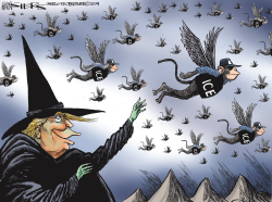 ICE Raids by Kevin Siers