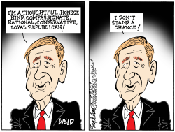 William Weld by Bob Englehart