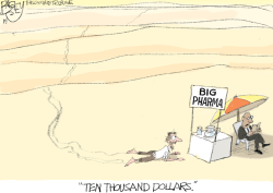 Drug Prices by Pat Bagley
