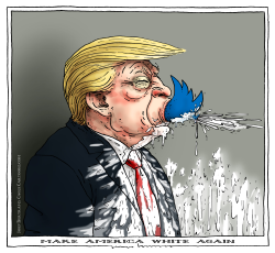 make america white again by Joep Bertrams