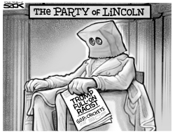 Party of Lincoln by Steve Sack