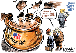 America's Melting Pot by Jeff Koterba