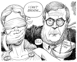 Eric Garner case by Adam Zyglis