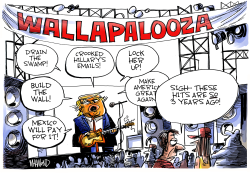 Trump Summer Tour by Dave Whamond