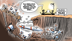 Afghan civilian casualties by Paresh Nath
