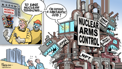 Nuclear Arms control by Paresh Nath