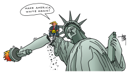 make America white again by Arend Van Dam