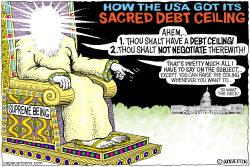Sacred Debt Ceiling by Wolverton