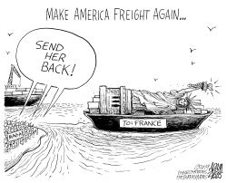 Send her back by Adam Zyglis