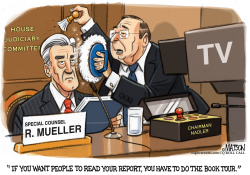Mueller Report Book Tour by RJ Matson