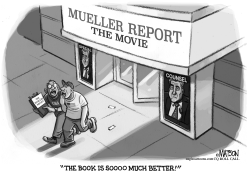 Mueller Report Movie Review by RJ Matson