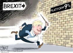 Hard Brexit by Pat Bagley