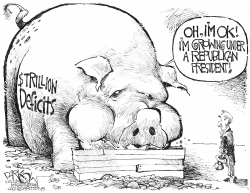 Republican deficits by John Darkow