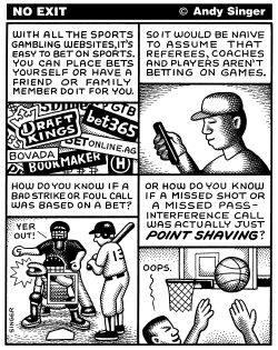 On Line Sports Gambling by Andy Singer