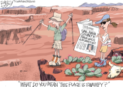 LOCAL Utah Swamp by Pat Bagley