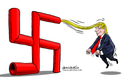 Trump extreme by Arcadio Esquivel
